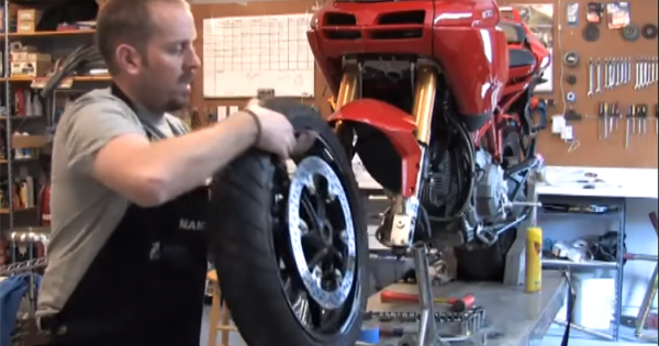 How to remove and replace a front wheel