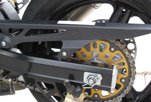 motorcycle chain adjustment alignment