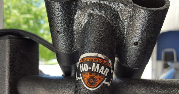 No-Mar Tire Changer