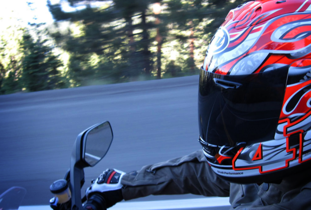 Arai RX-7 Corsair Fire and Ice Motorcycle Helmet