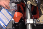 Motorcycle Coolant Flush