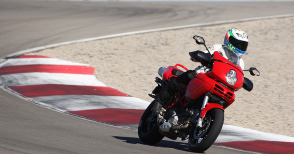 Continental Sport Attack Tire Test Review Multistrada Race Track