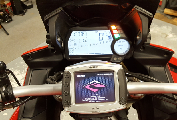 motorcycle handlebar ram gps phone mount