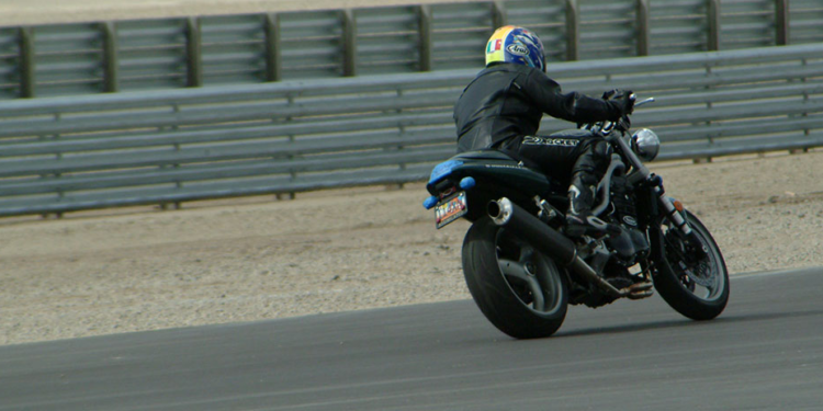 Triumph Speed Triple Michelin Pilot Power Racetrack