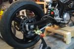 Suzuki SV650 Rear Wheel