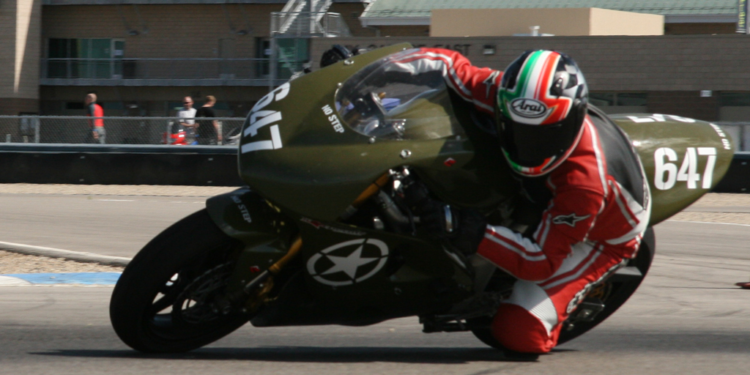 Army Green SV650 Dunlop Sportmax Tire