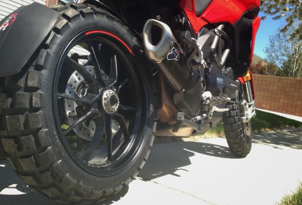 Continental TKC80 Ducati Multistrada