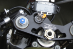 vapor trail tech gauge sv650 race bike