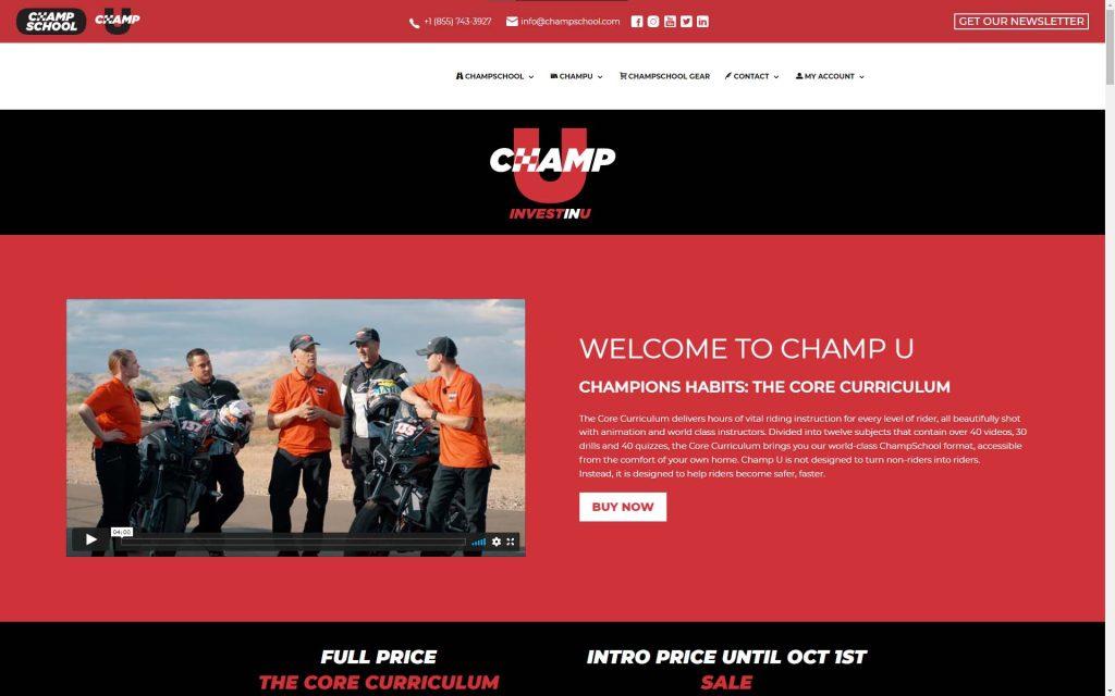 Champ U Online Training